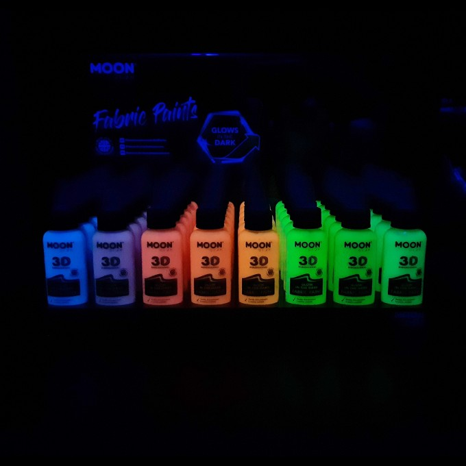 Fosforová barva na textil 30ml