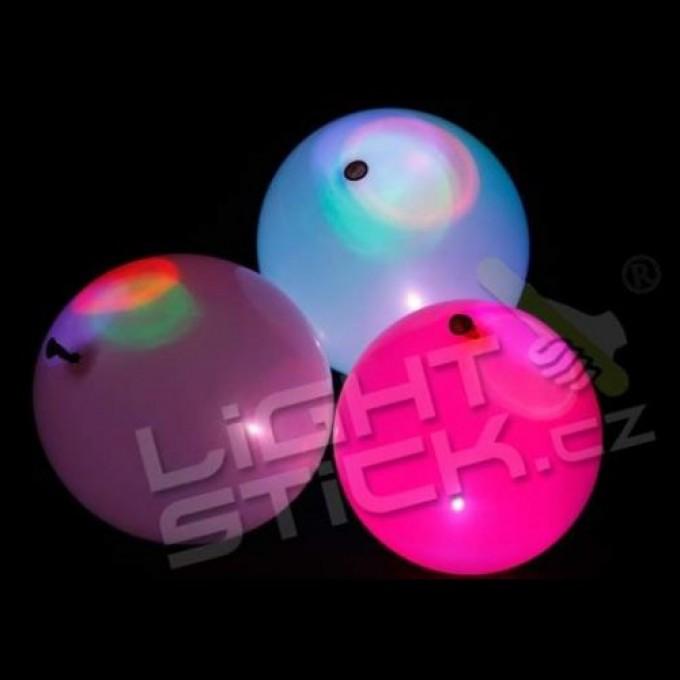 Nafukovací balónek 5ks, svítící - různé barvy