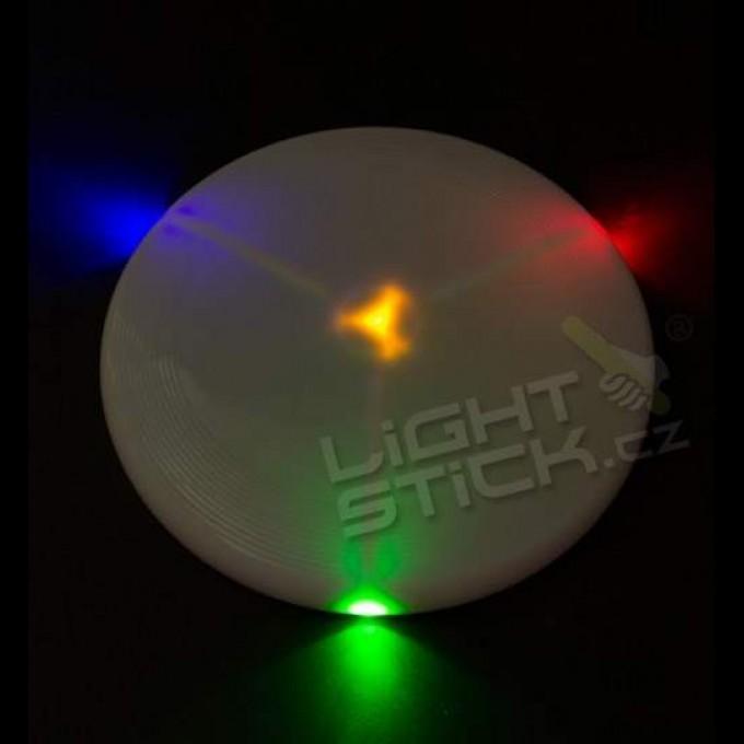 Frisbee, létající talíř LED svítící
