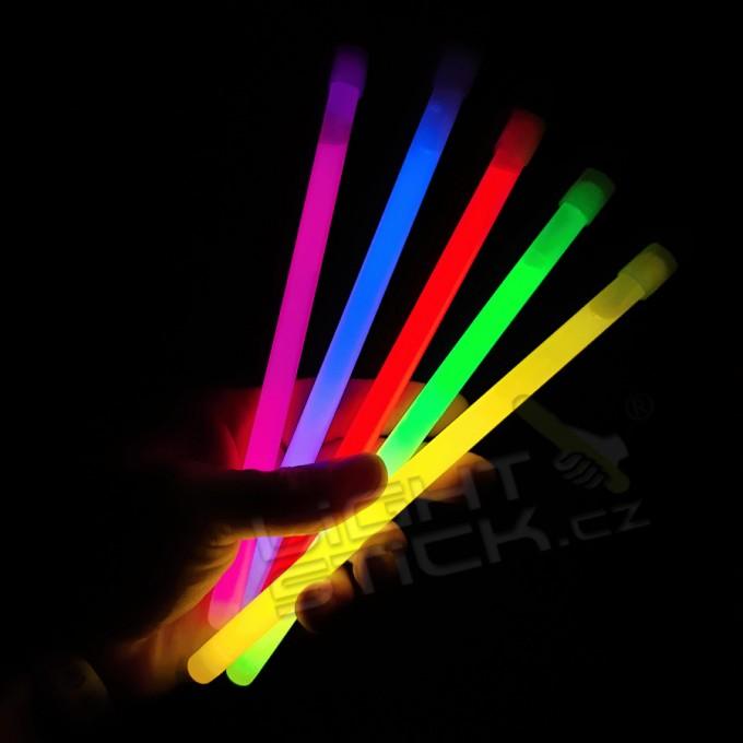 Svítící tyčinka 20cm,25ks Lightstick SLIM