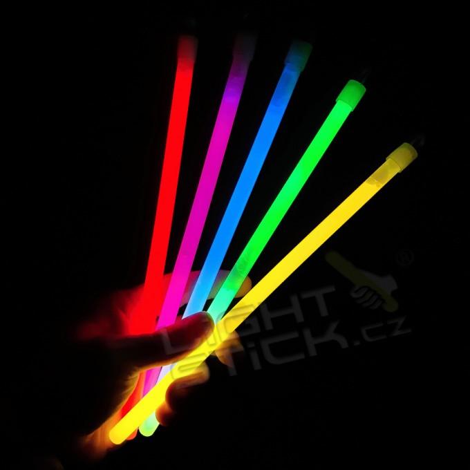 Svítící tyčinka 25cm,25ks Lightstick SLIM