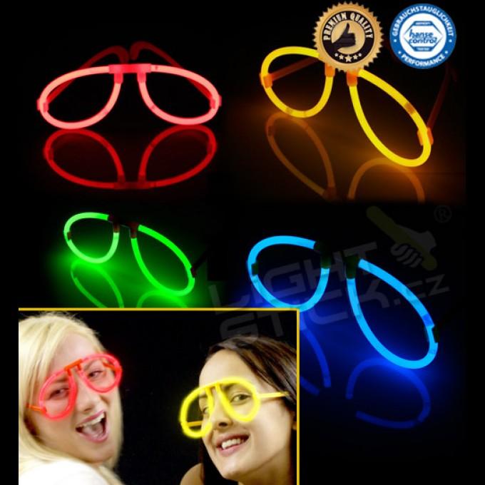Svítící brýle (spojka+2ks tyčinek)