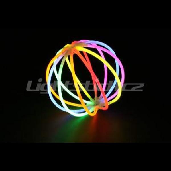 Svítící míč, 10 ks spojek