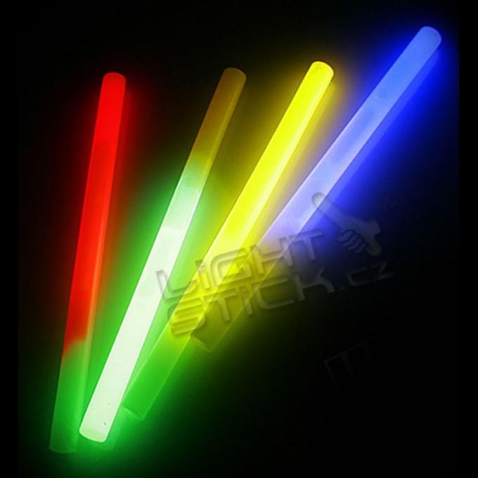 Svítící party tyčinka (chemické světlo) 24cm