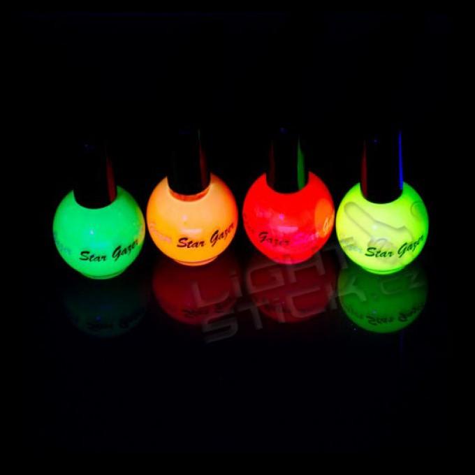 Barevný lak UV/neon na nehty, 10ml