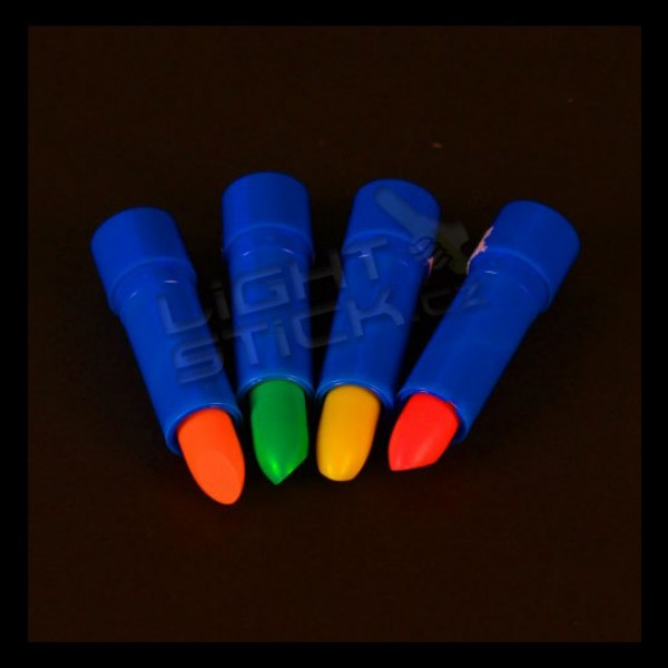 Rtěnka, UV, bodypainting, různé barvy
