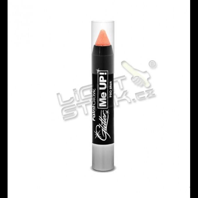 Třpytková tužka na tělo a obličej 3g, UV, bodypainting